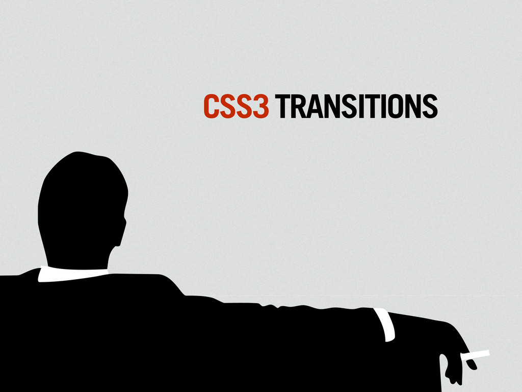 MAD CSS3TRANSITIONS