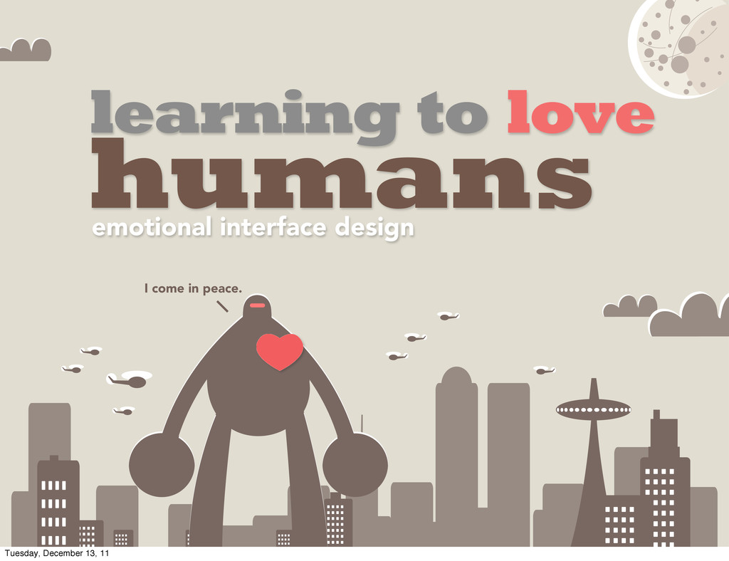 learning to love humans emotional interface des...