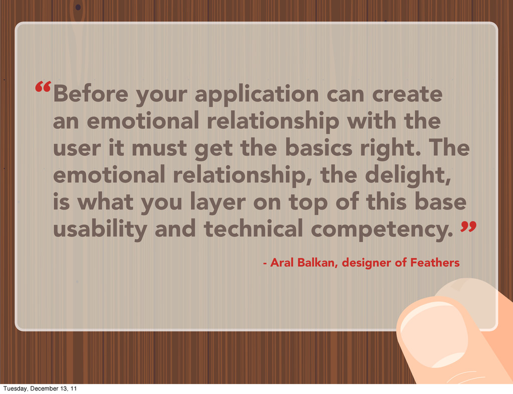 Before your application can create an emotional...