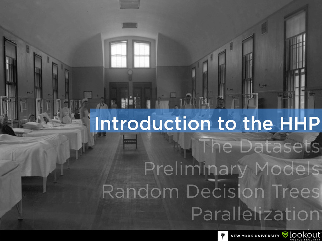 Introduction to the HHP The Datasets Preliminar...