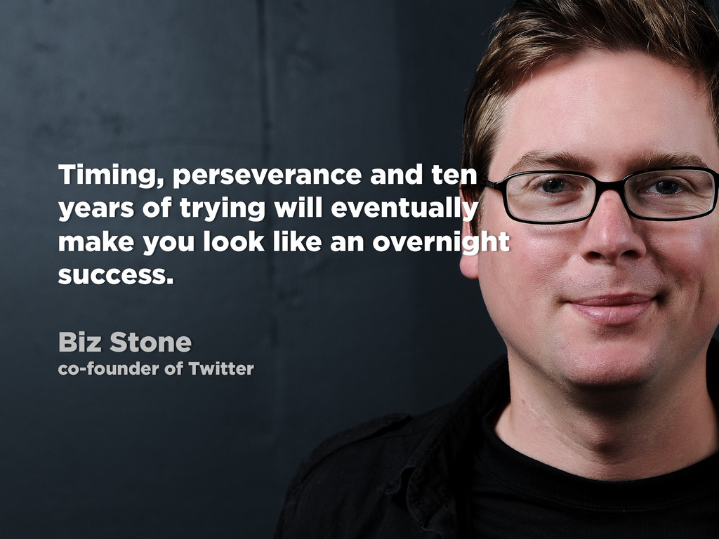 Timing, perseverance and ten years of trying wi...