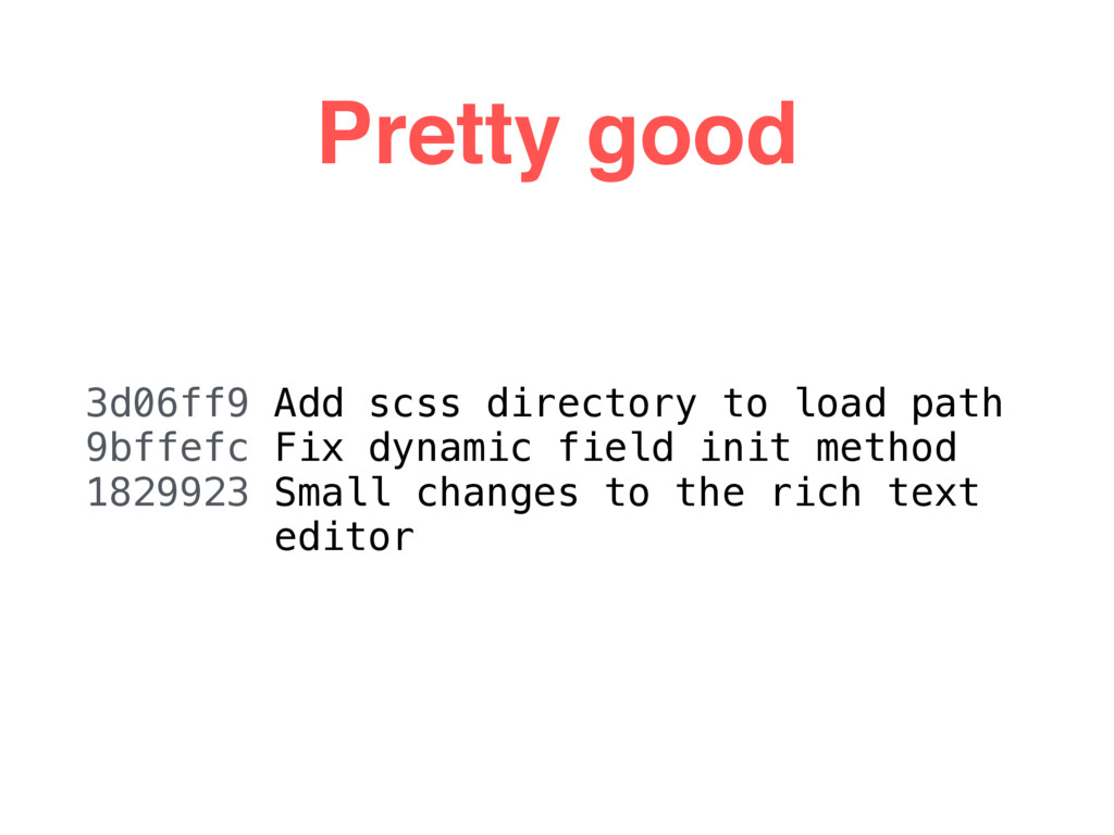 Pretty good 3d06ff9 Add scss directory to load ...