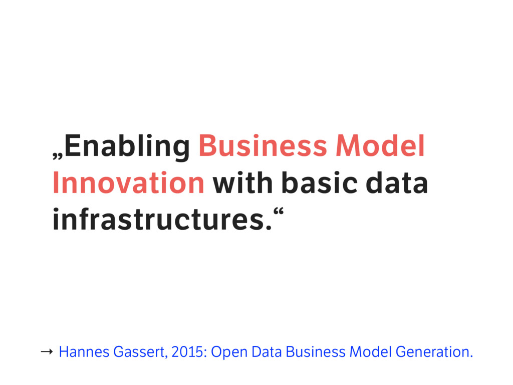 """""""Enabling Business Model Innovation with basic ..."""