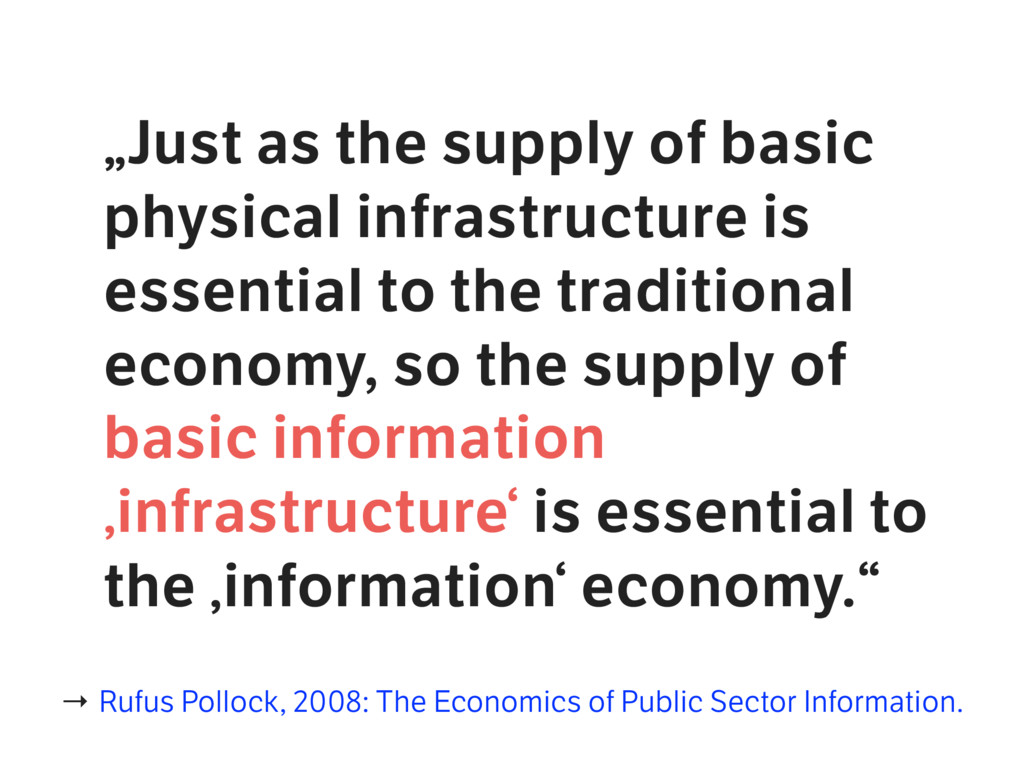 """""""Just as the supply of basic physical infrastru..."""