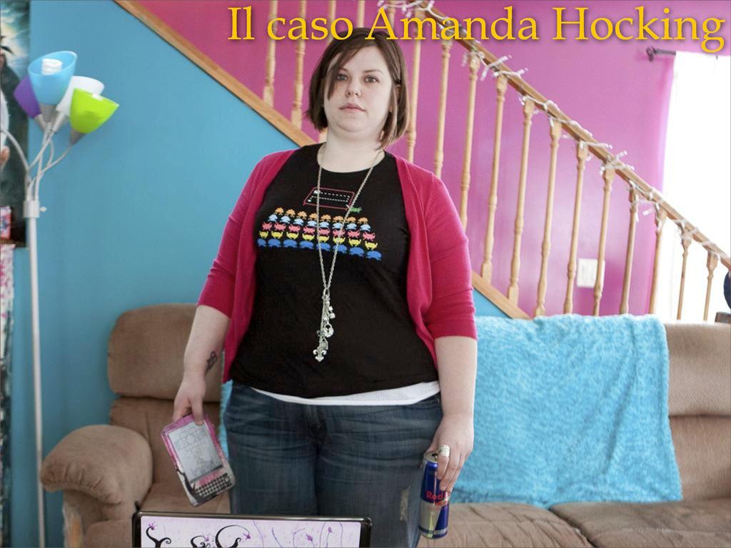 Il caso Amanda Hocking