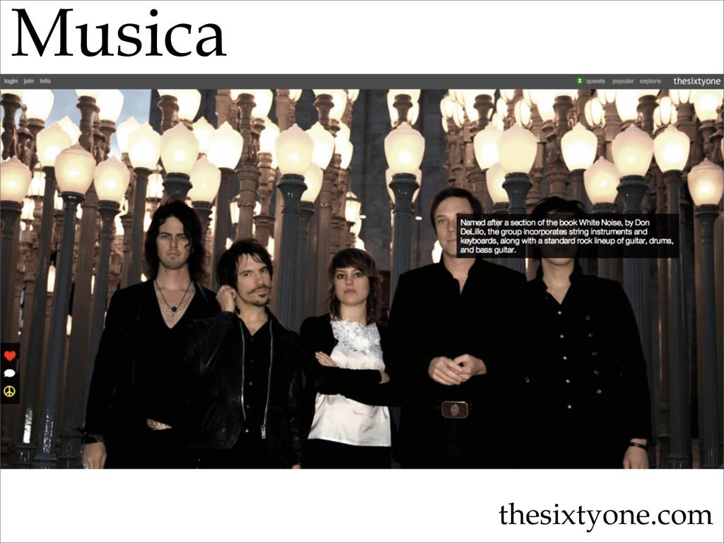 Musica thesixtyone.com