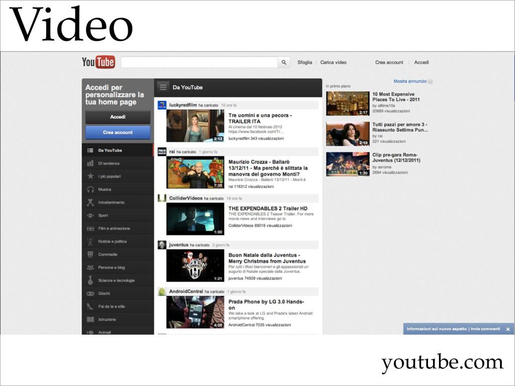Video youtube.com