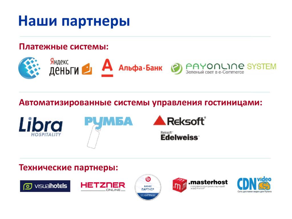 Наши партнеры Платежные системы: Автоматизирова...