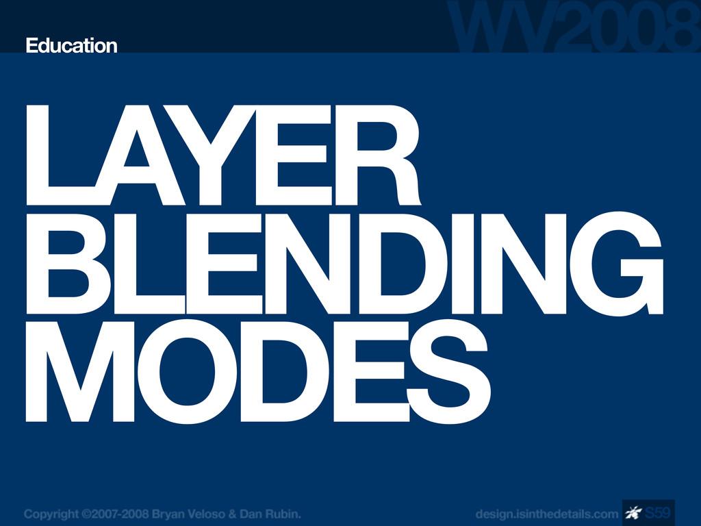 LAYER BLENDING MODES Education S59