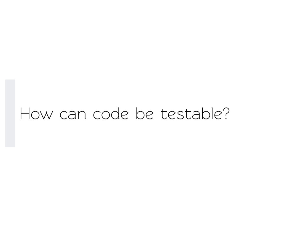How can code be esable?