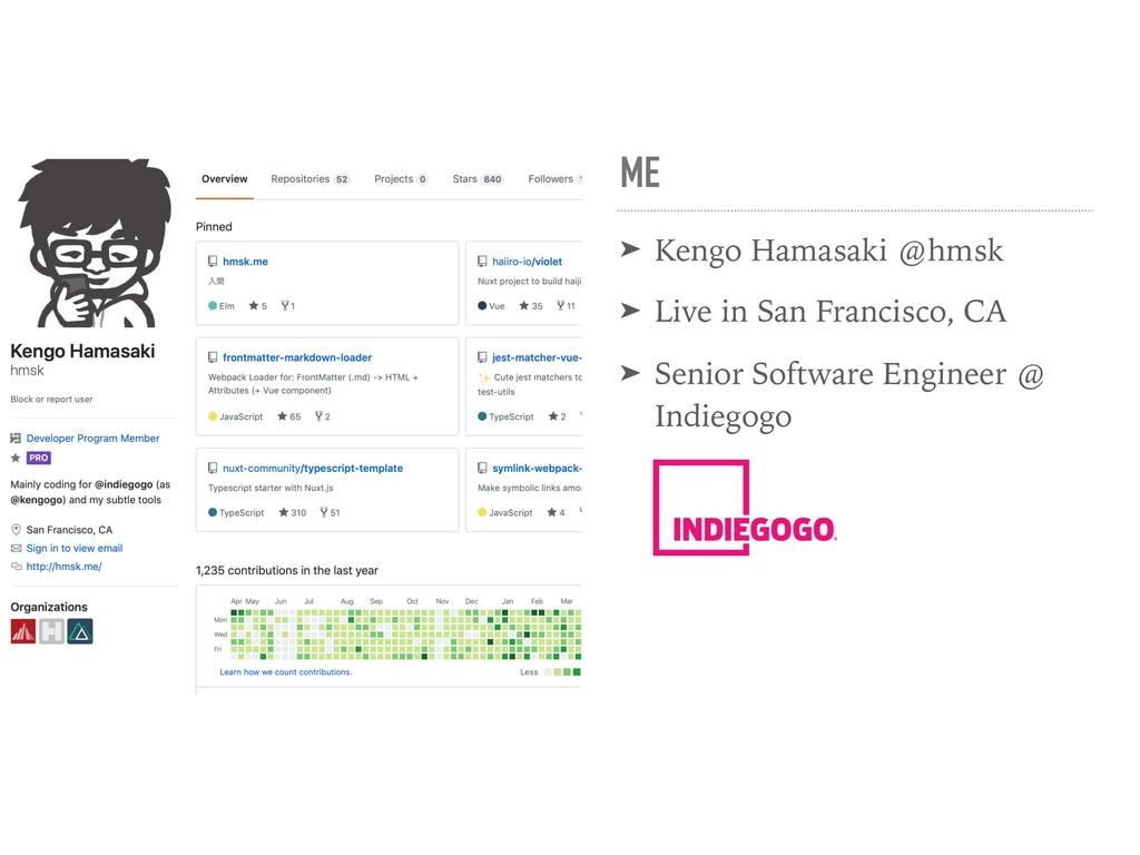 ME ➤ Kengo Hamasaki @hmsk ➤ Live in San Francis...