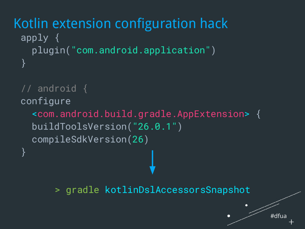 #dfua Kotlin extension configuration hack apply...