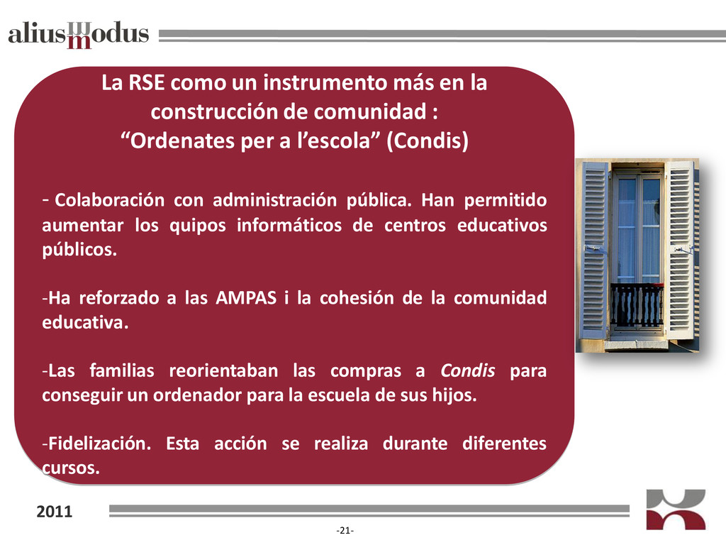 2011 -21- La RSE como un instrumento más en la ...