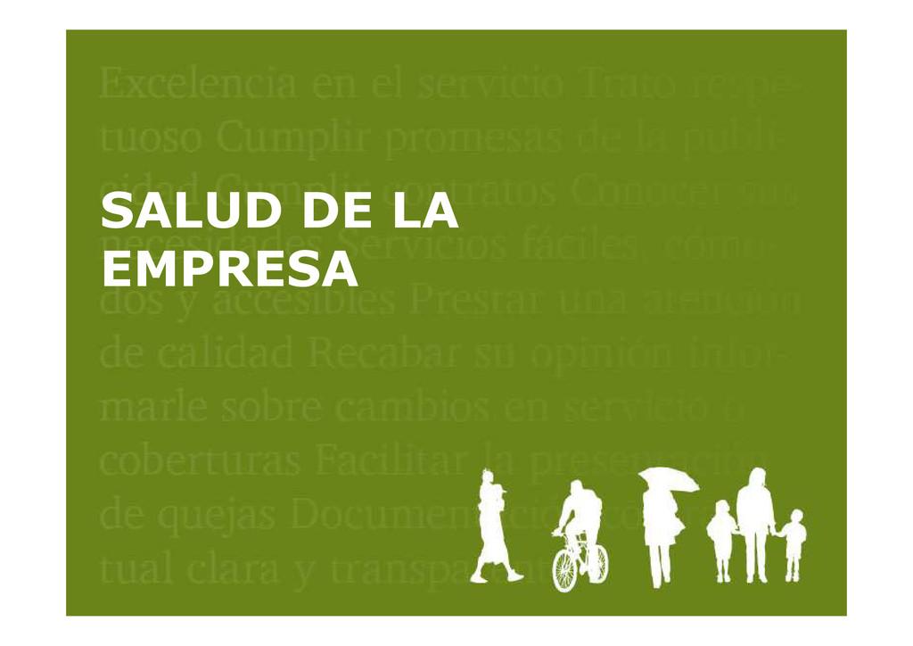 CUMPLIMIENTO COMPROMISOS CLIENTES SALUD DE LA E...