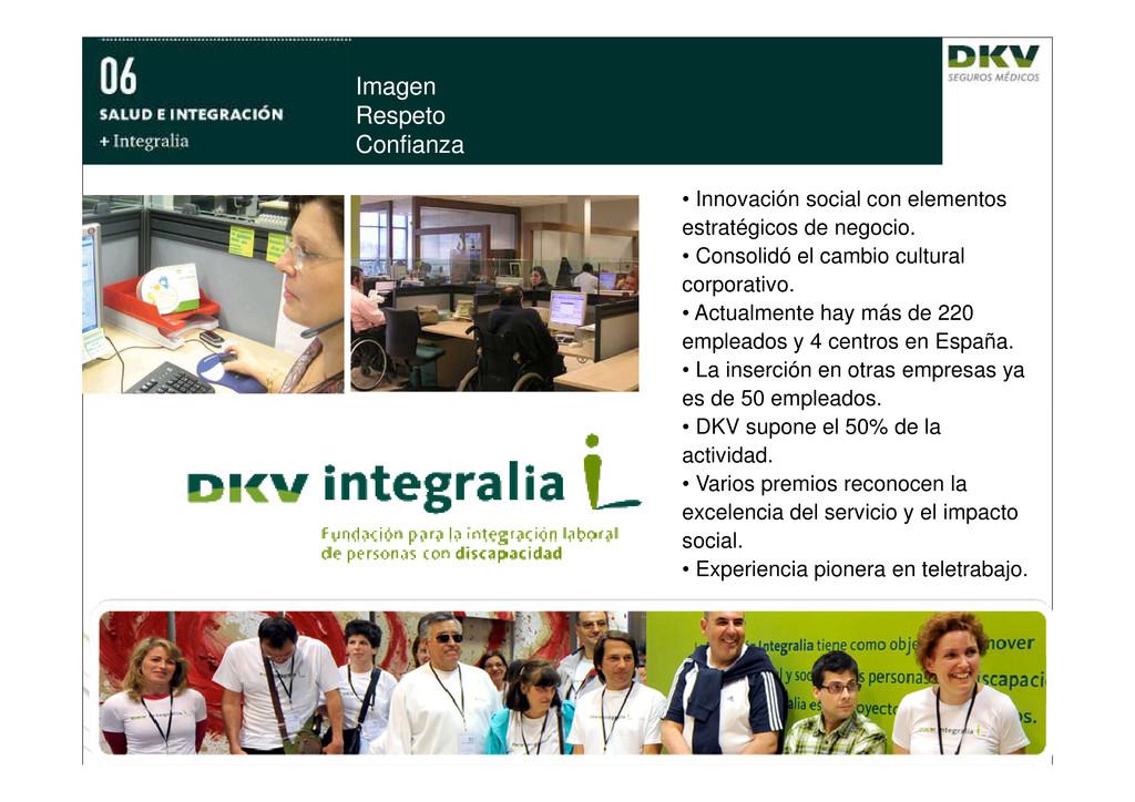 Imagen Respeto Confianza • Innovación social co...