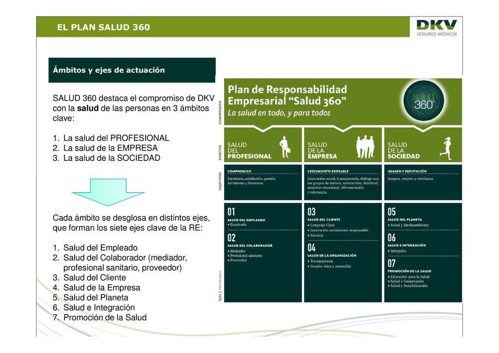 EL PLAN SALUD 360 SALUD 360 destaca el compromi...