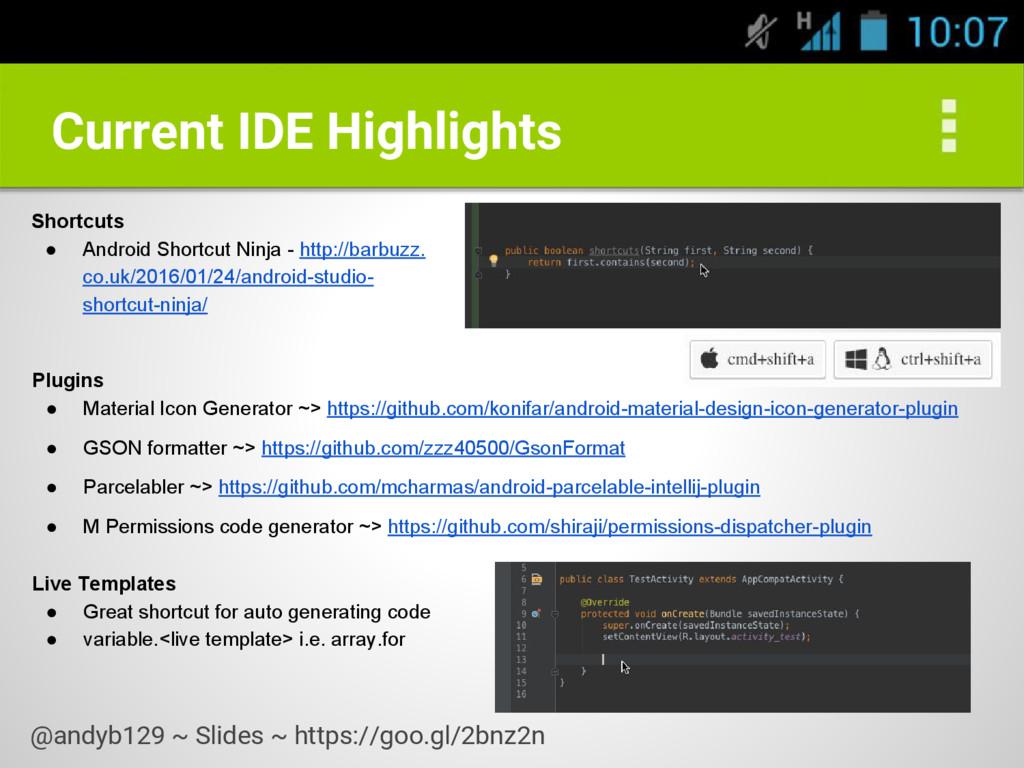 Plugins ● Material Icon Generator ~> https://gi...