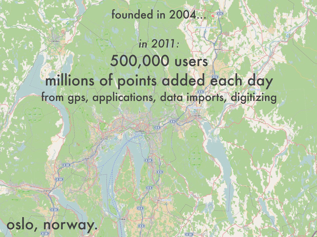 founded in 2004... in 2011: 500,000 users milli...