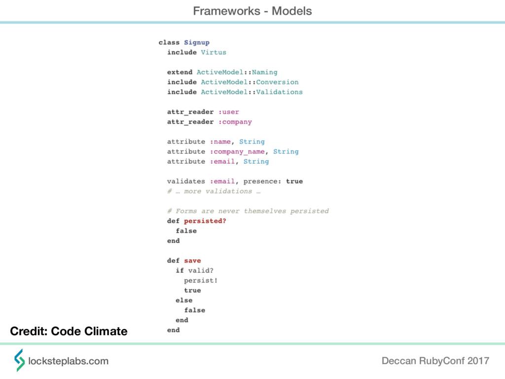 Deccan RubyConf 2017 locksteplabs.com Framework...