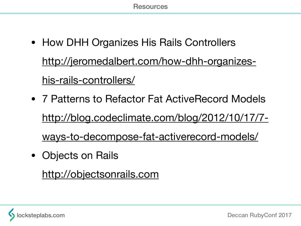 • How DHH Organizes His Rails Controllers http...