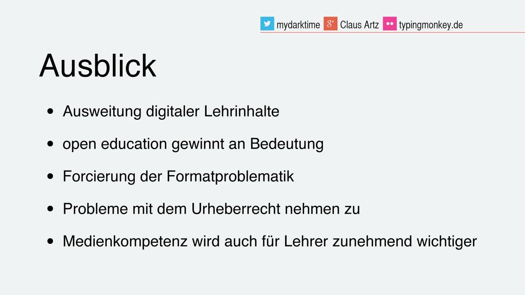• Ausweitung digitaler Lehrinhalte • open educa...
