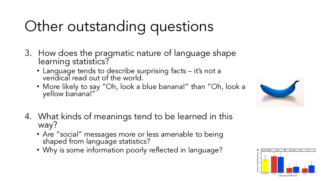 Other outstanding questions 3. How does the pra...