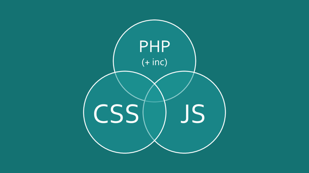 PHP (+ inc) JS CSS