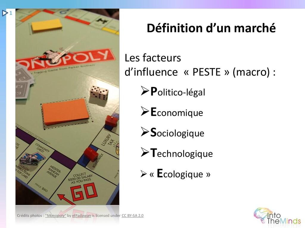 Les facteurs d'influence « PESTE » (macro) : ➢P...