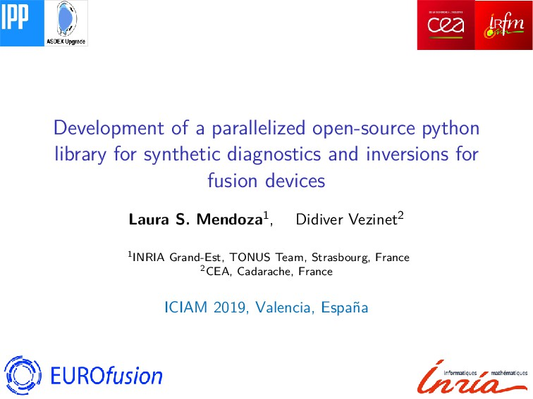 Development of a parallelized open-source pytho...