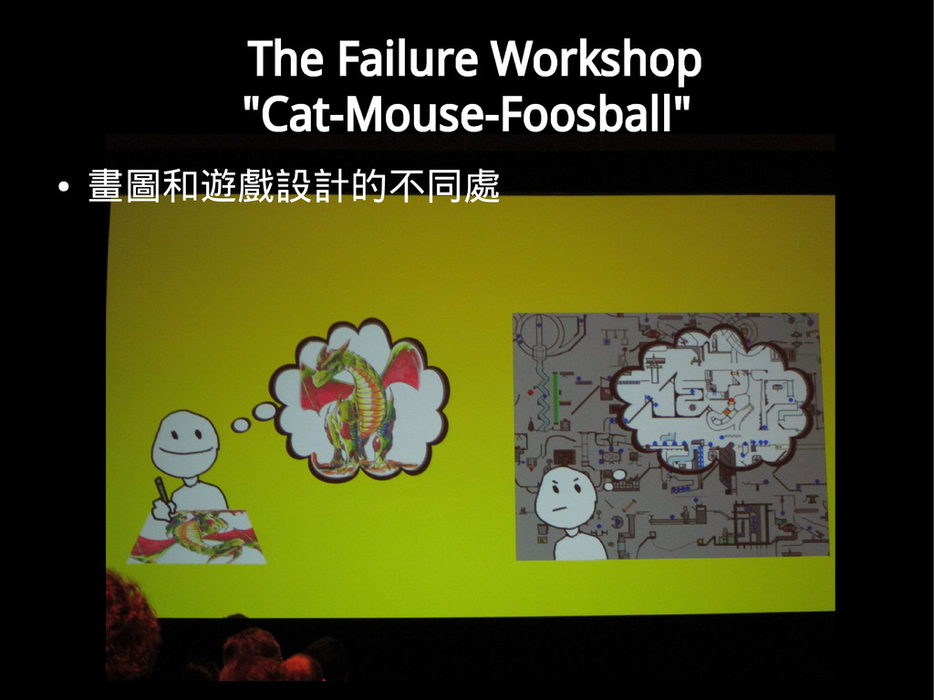 "The Failure Workshop ""Cat-Mouse-Foosball"" ● 畫圖和..."