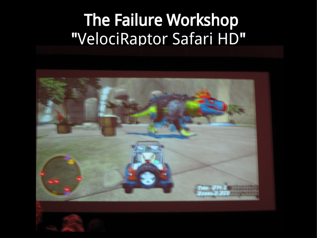 "The Failure Workshop ""VelociRaptor Safari HD"""