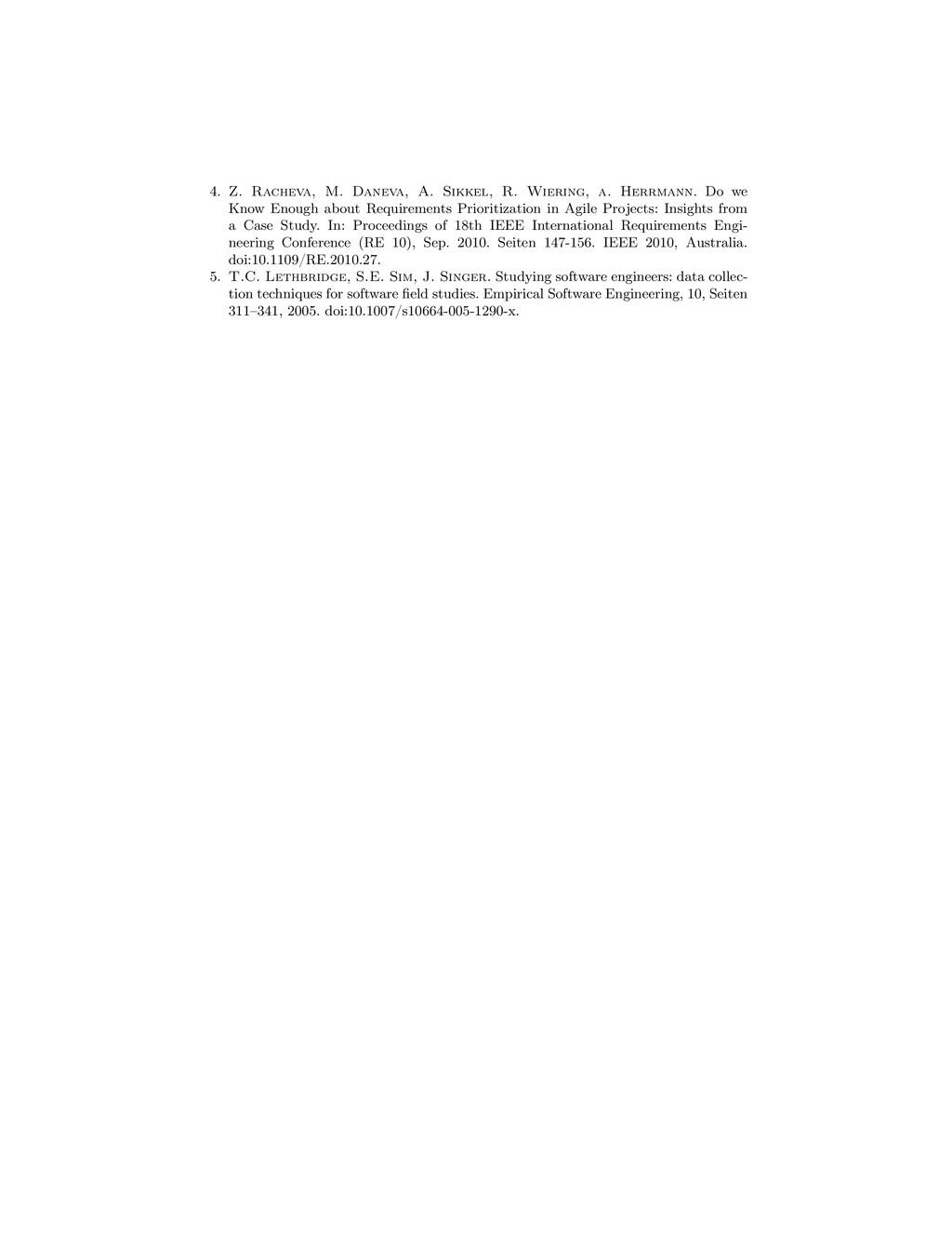 4. Z. Racheva, M. Daneva, A. Sikkel, R. Wiering...