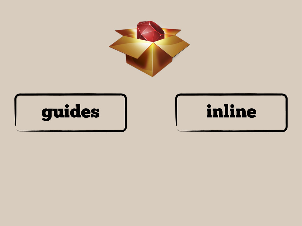 guides inline