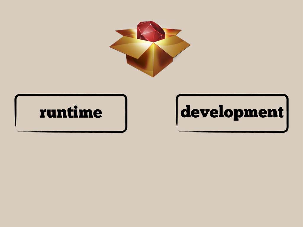 runtime development