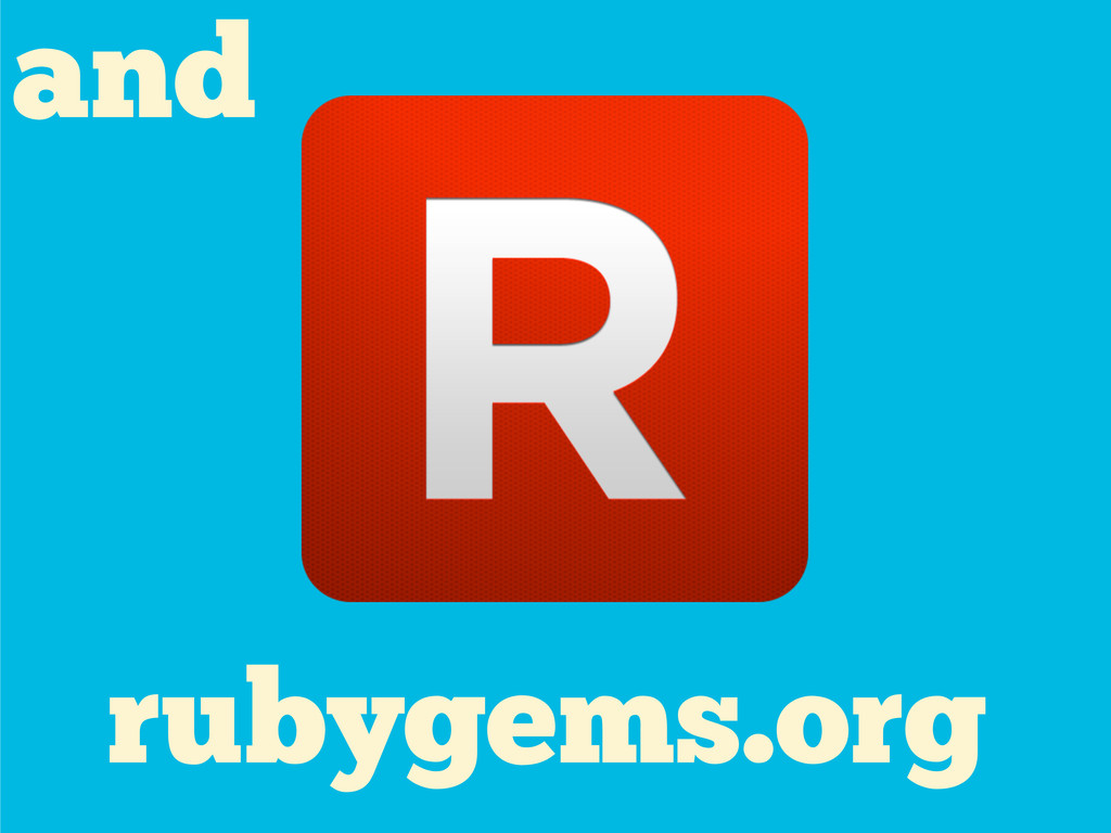 rubygems.org and