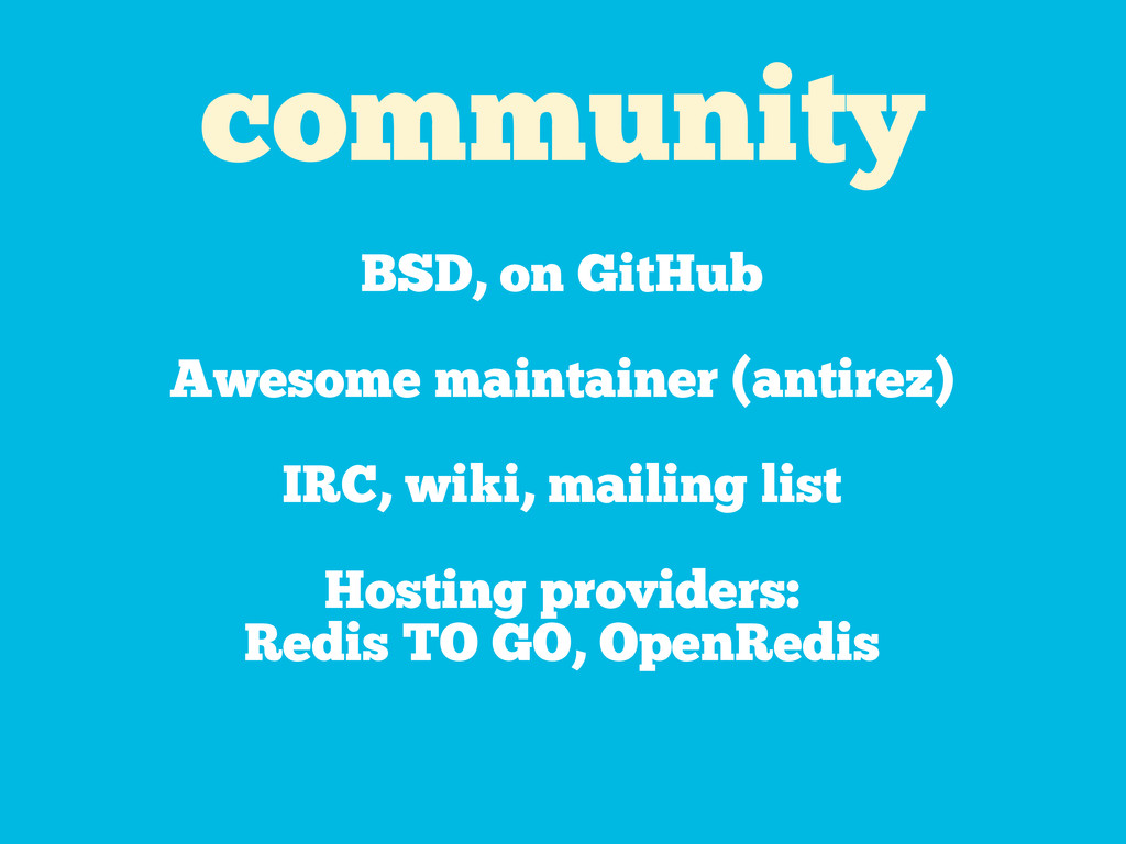 community BSD, on GitHub Awesome maintainer (an...