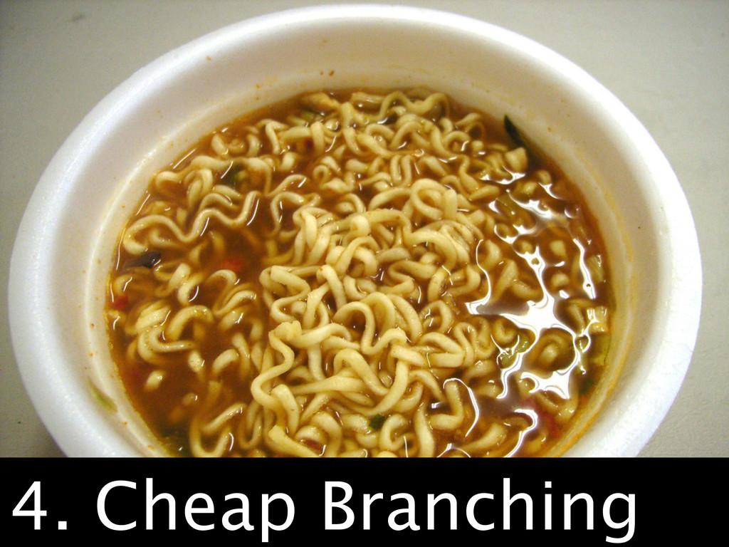 CHEAP. 4. Cheap Branching