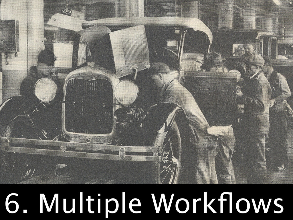 Any Workflow 6. Multiple Workflows