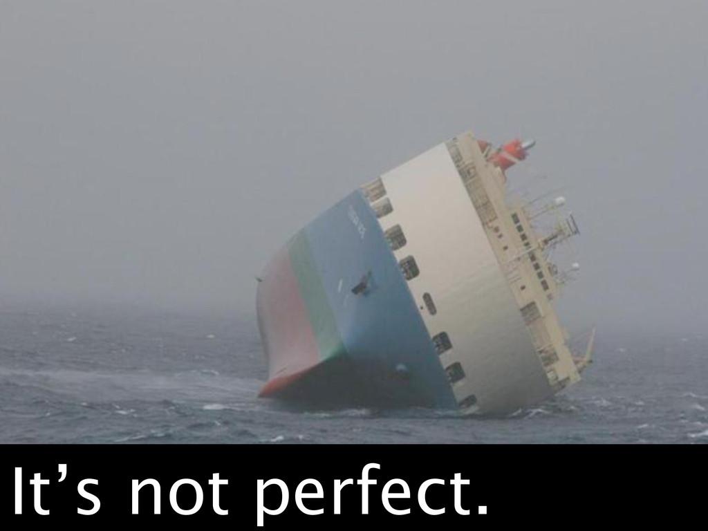 Failboat. It's not perfect.