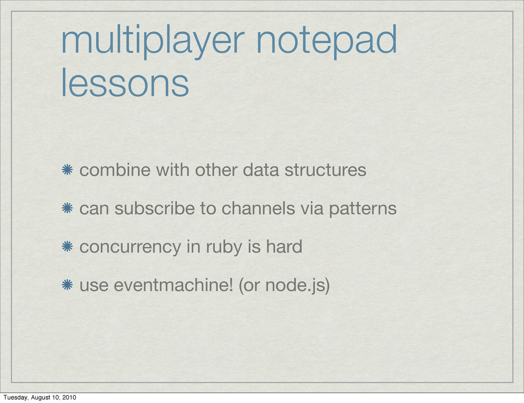 multiplayer notepad lessons combine with other ...