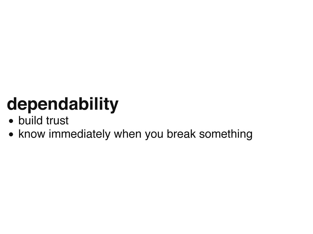 dependability build trust know immediately when...