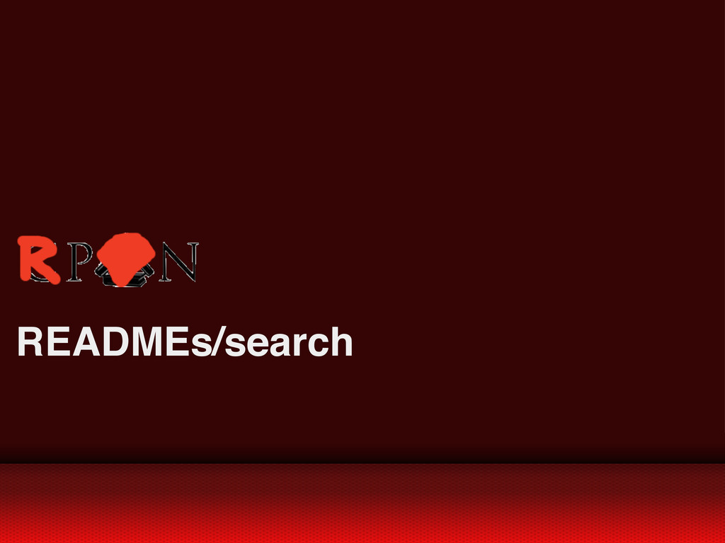 READMEs/search