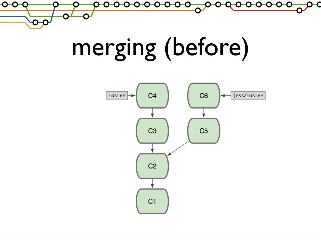 merging (before)