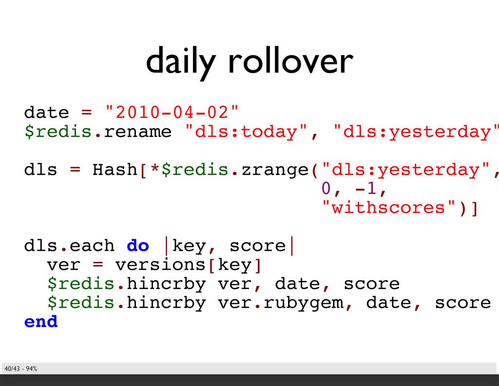 "daily rollover date = ""2010-04-02"" $redis.renam..."
