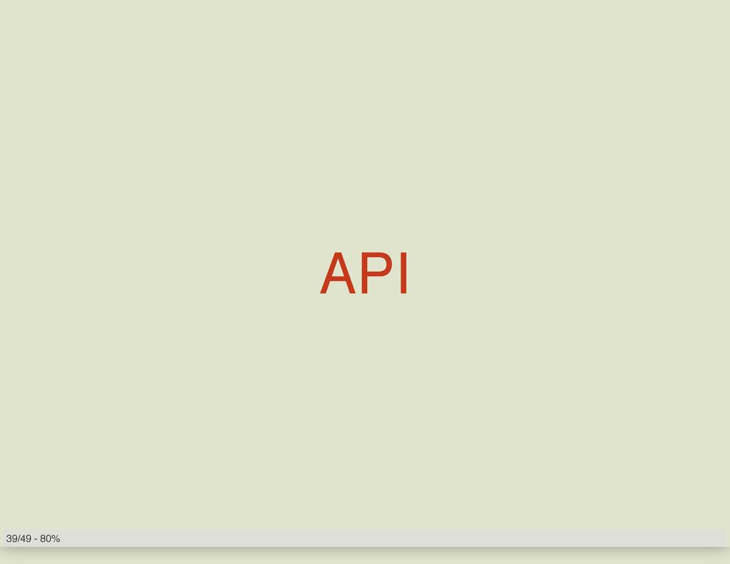 API 39/49 - 80%