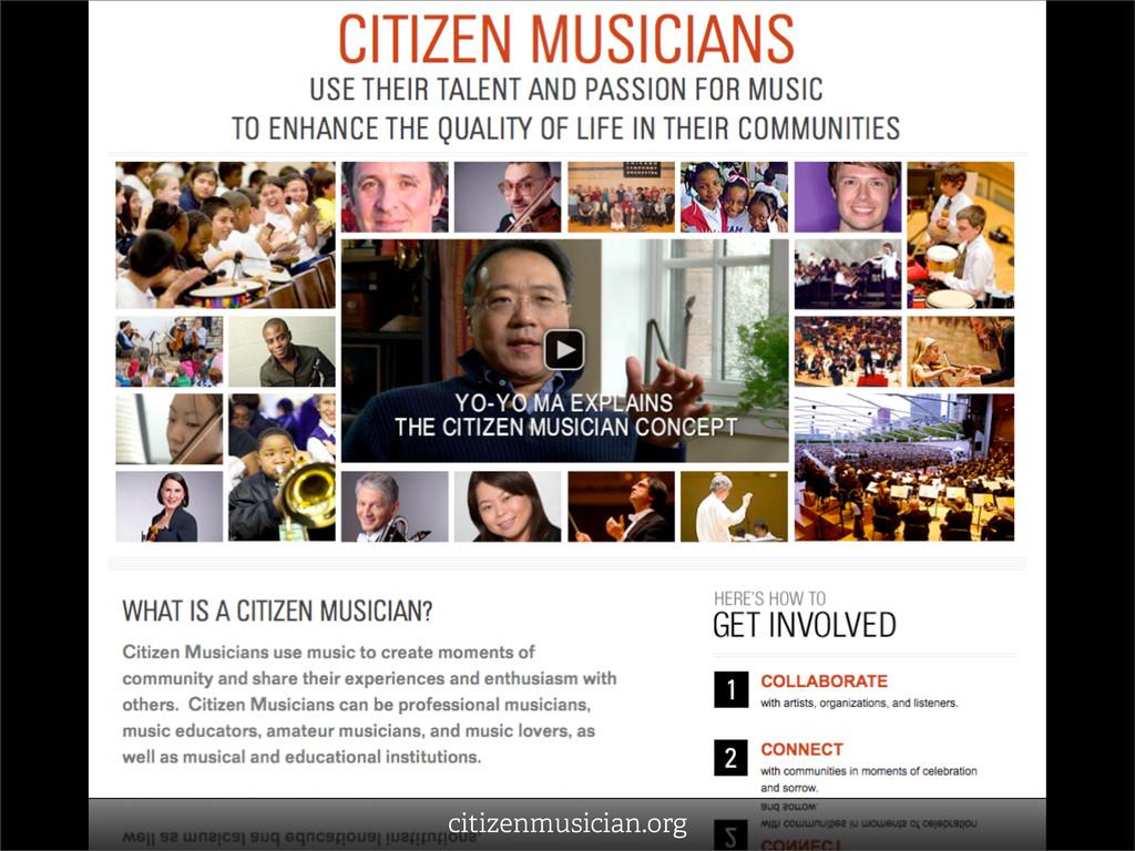 citizenmusician.org