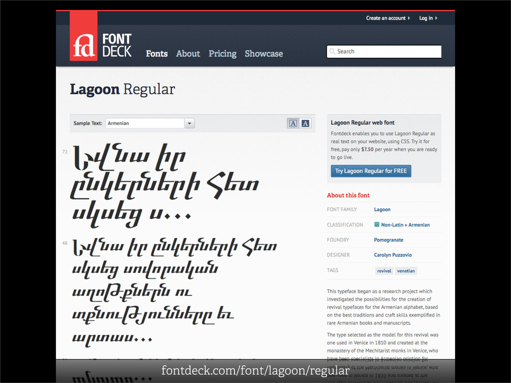 fontdeck.com/font/lagoon/regular