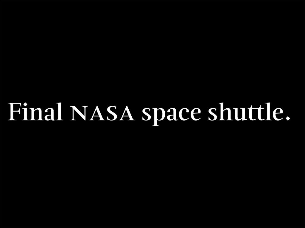 Final space shu le.