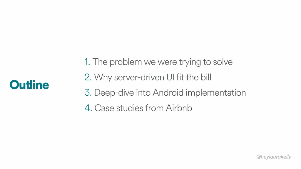 1. The problem we were trying to solve 2. Why s...