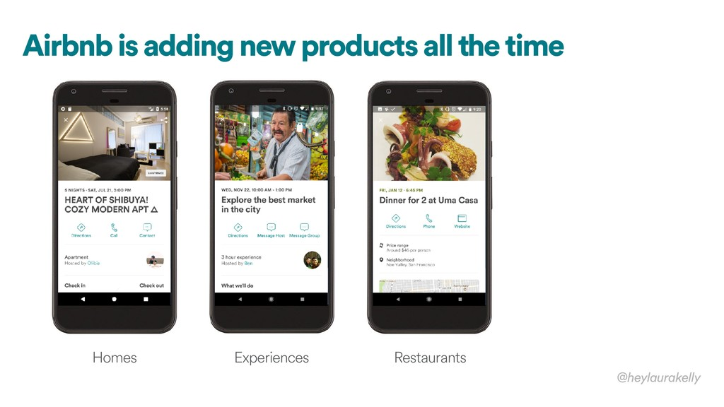 Airbnb is adding new products all the time @hey...